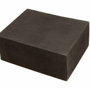 TM Rubber absorber block 100 mm