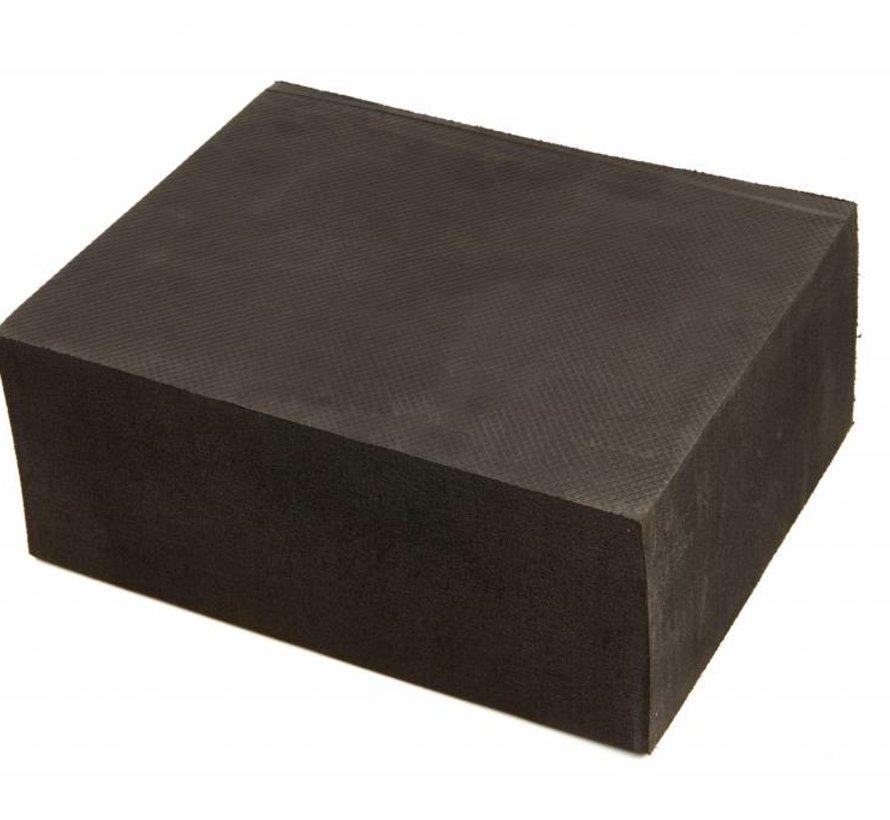 Extra breiter Gummi-Absorberblock 100 mm