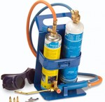 Autogenous welding and brazing equipment and soldering burners