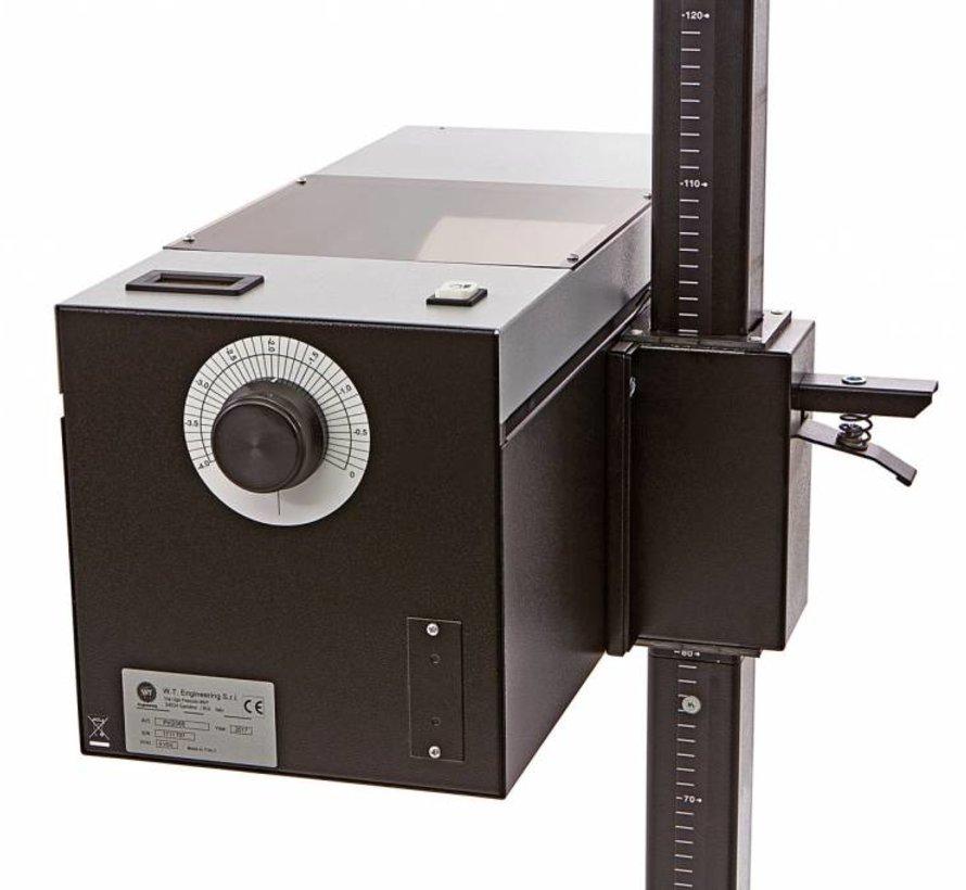 Koplampafstelapparaat met Laser en digitale Luxmeter