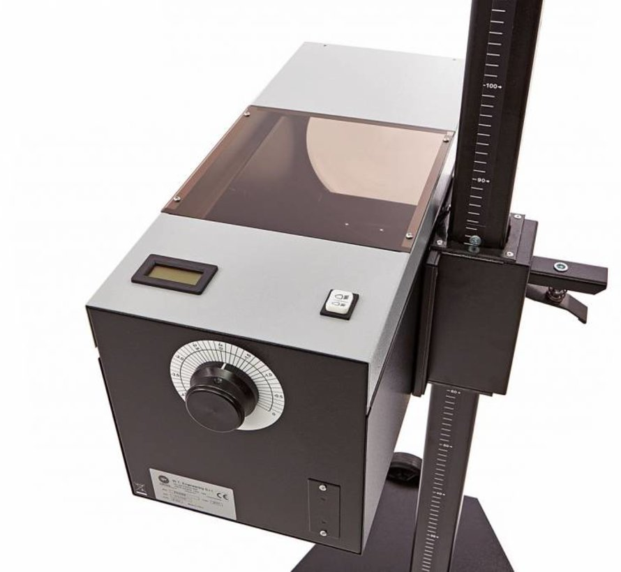 Scheinwerfereinstellvorrichtung mit Laser und digitalem Luxmeter