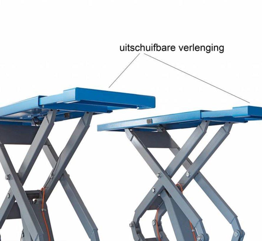 Profi Schaarbrug dubbel Inbouw 3.5 ton