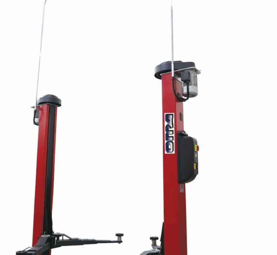 2 Koloms Hefbrug 3 ton Vloervrij volautomatisch