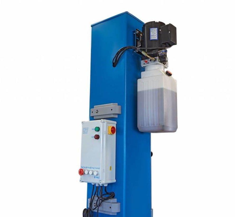 TM Mobile 1-koloms hefbrug met elektronische ontgrendeling