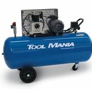TM 200 Liter Compressor V-Snaar Aangedreven 5,5Hp
