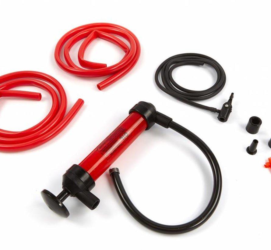 Sifon pomp / Vacuumpomp / Hevelpomp set met slangen en koppelingen