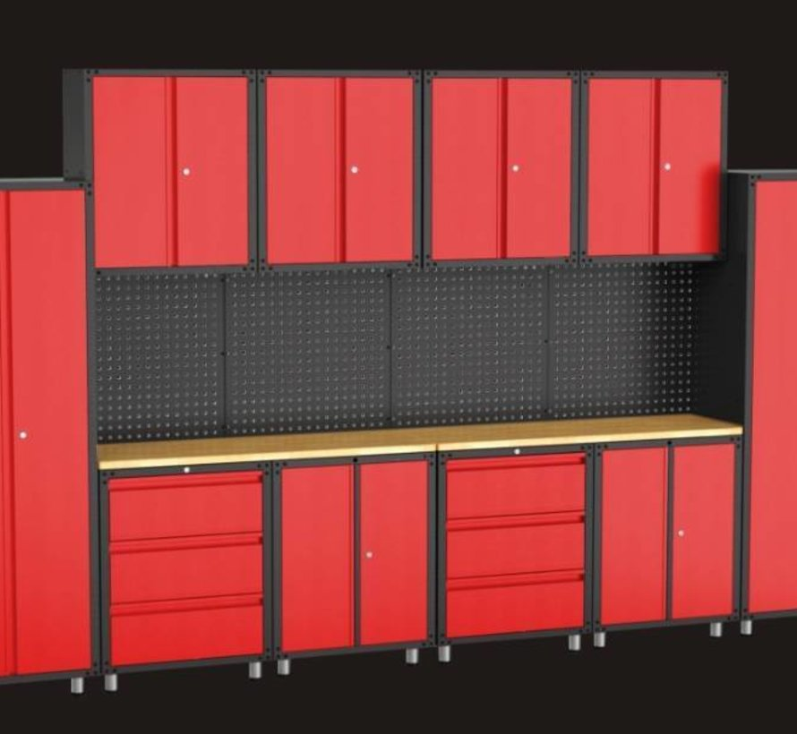 Komplettes Garagengerät 16 Teile