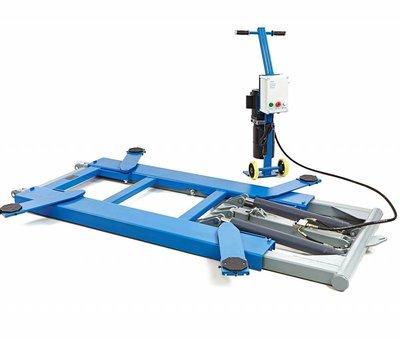 TM Volautomatische 2800 Kg Verrijdbare Autopoetsbrug 140 cm