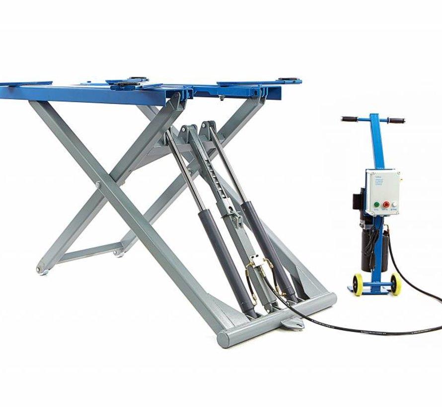 Volautomatische 2800 Kg Verrijdbare Autopoetsbrug 140 cm