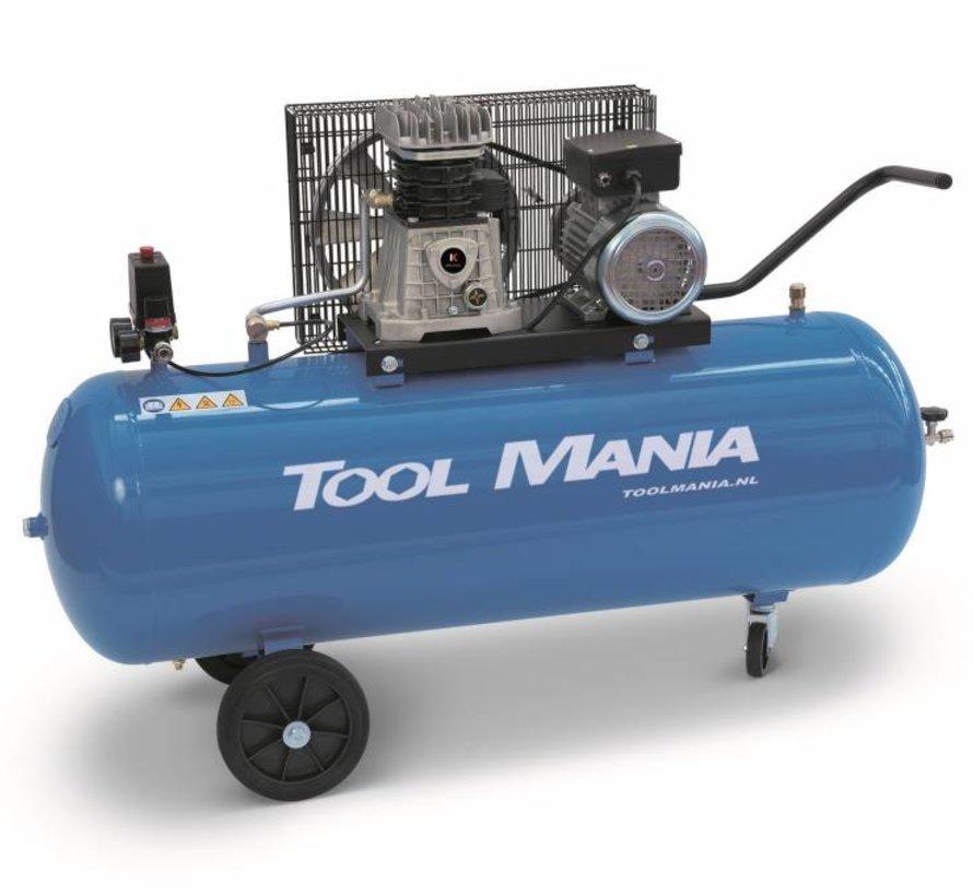 200 Liter  Compressor 3Hp, 400v
