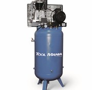 TM 270 Liter Compressor with vertical tank 7.5 Hp, 400v