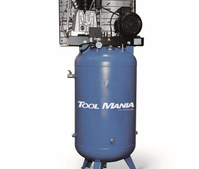 TM 270 Liter Compressor met verticale tank 7,5 Hp, 400v