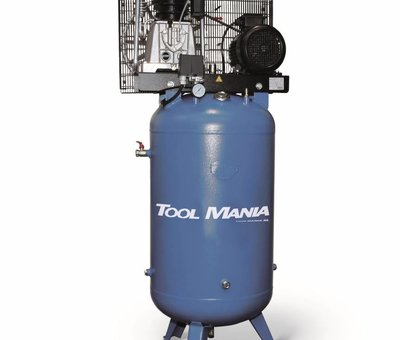 TM TM 270 Liter Compressor met verticale tank 7,5 Hp, 400v