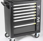 Tool trolley BLACK