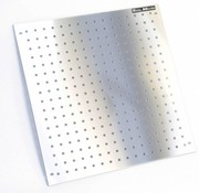 TM Werkzeugtafel aus Edelstahl 68 x 67 cm