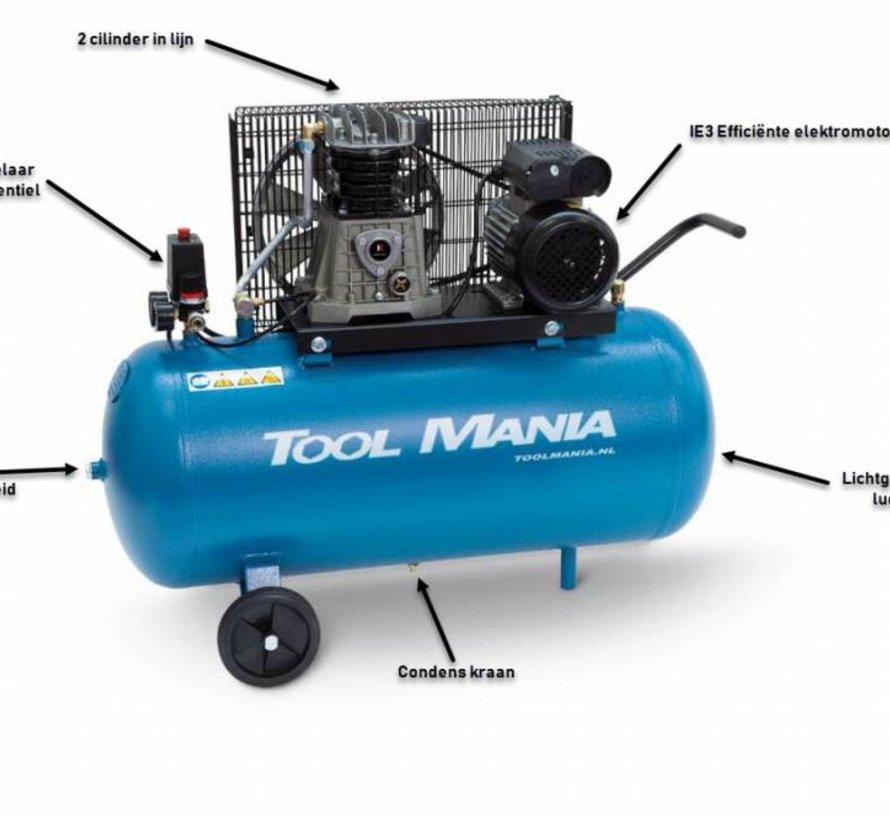 TM 100 Liter Kompressor 2 PS, 230 V.