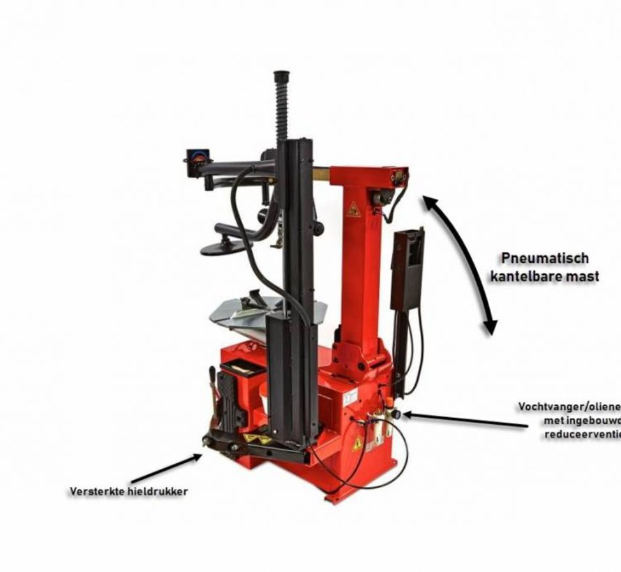 TM Tire dismantling machine with auxiliary arm