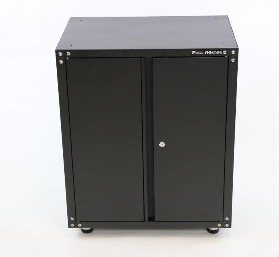 Modulair gereedschapskast met deuren  ZWART