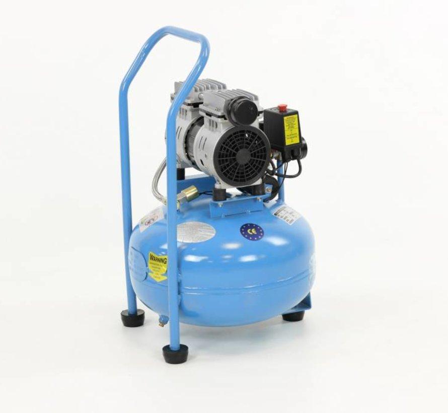 30 Liter professioneller geräuscharmer Kompressor 0,75 PS 230V