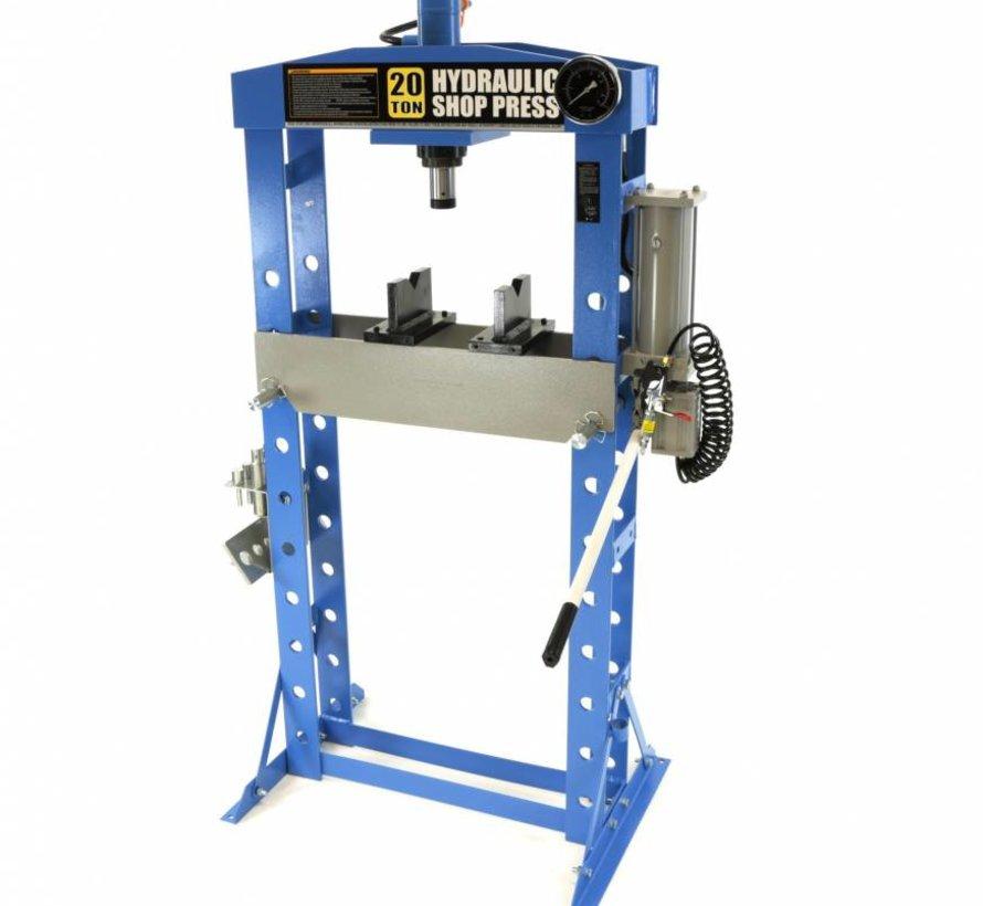 20 Tonnen hydraulische und pneumatische Fensterpresse / Werkstattpresse