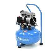TM 30 Liter Professional Low Noise Compressor 0.75 HP 230v