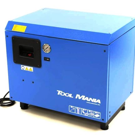 Schallgedämpfter Kolbenkompressor
