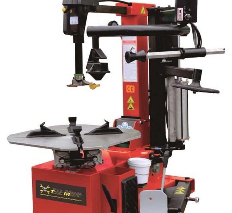 Profi Bandendemonteer machine met hulparm
