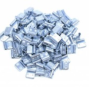 TM 100 pieces Fe wheel weight zinc for steel rims 20 grams