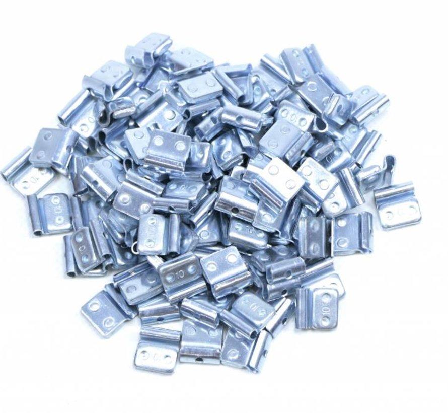 100 stuks Fe wielgewicht zink voor stalen velgen 25 gram
