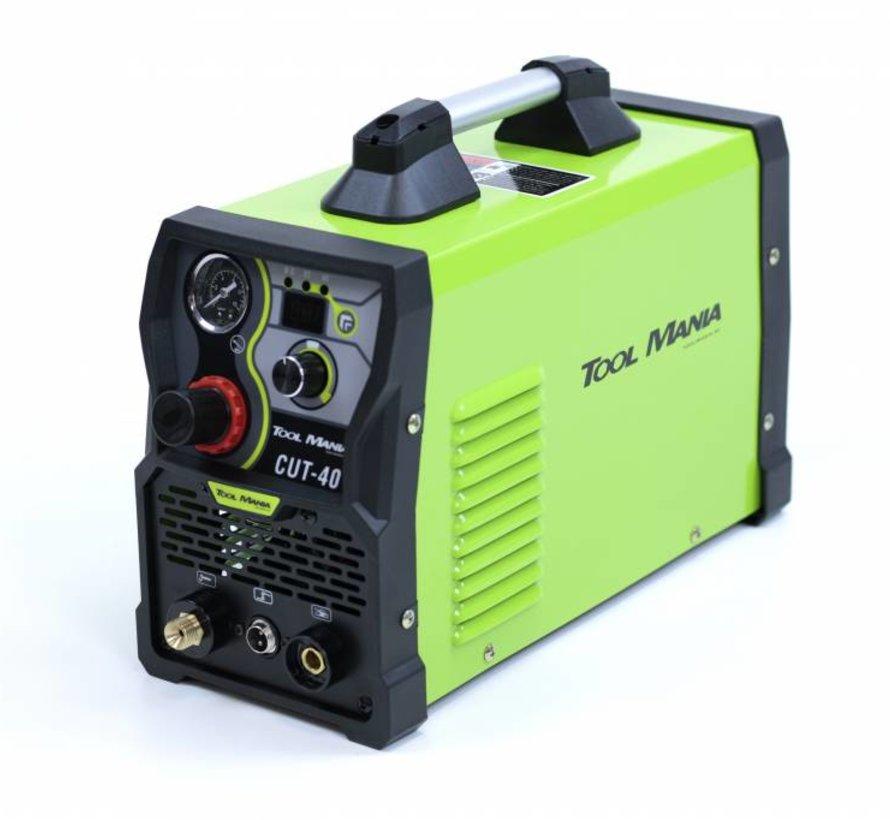TM CUT 40 Plasmaschneider mit Digitalanzeige und IGBT-Technologie