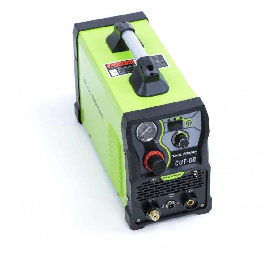 TM CUT 60 Plasmaschneider mit Digitalanzeige und IGBT-Technologie