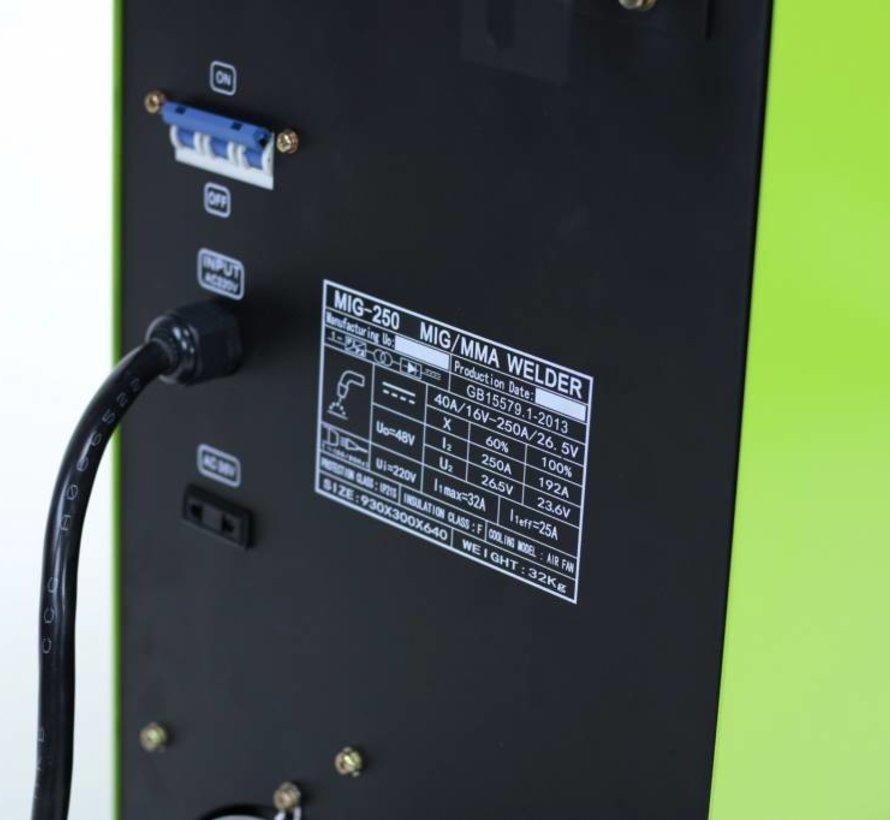 TM Professional IGBT 250 MIG / MAG / MMA welding machine