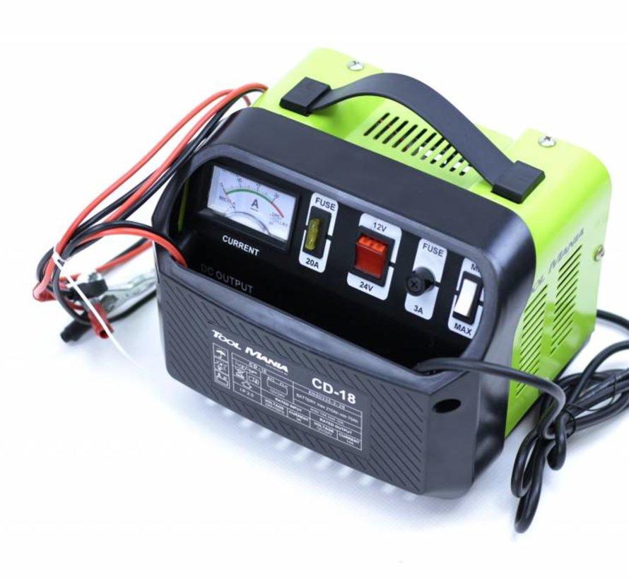 TM Battery charger 12 and 24 Volt 230v
