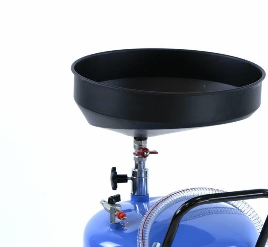 TM Ölsammelsystem mit Stahlschale Blau