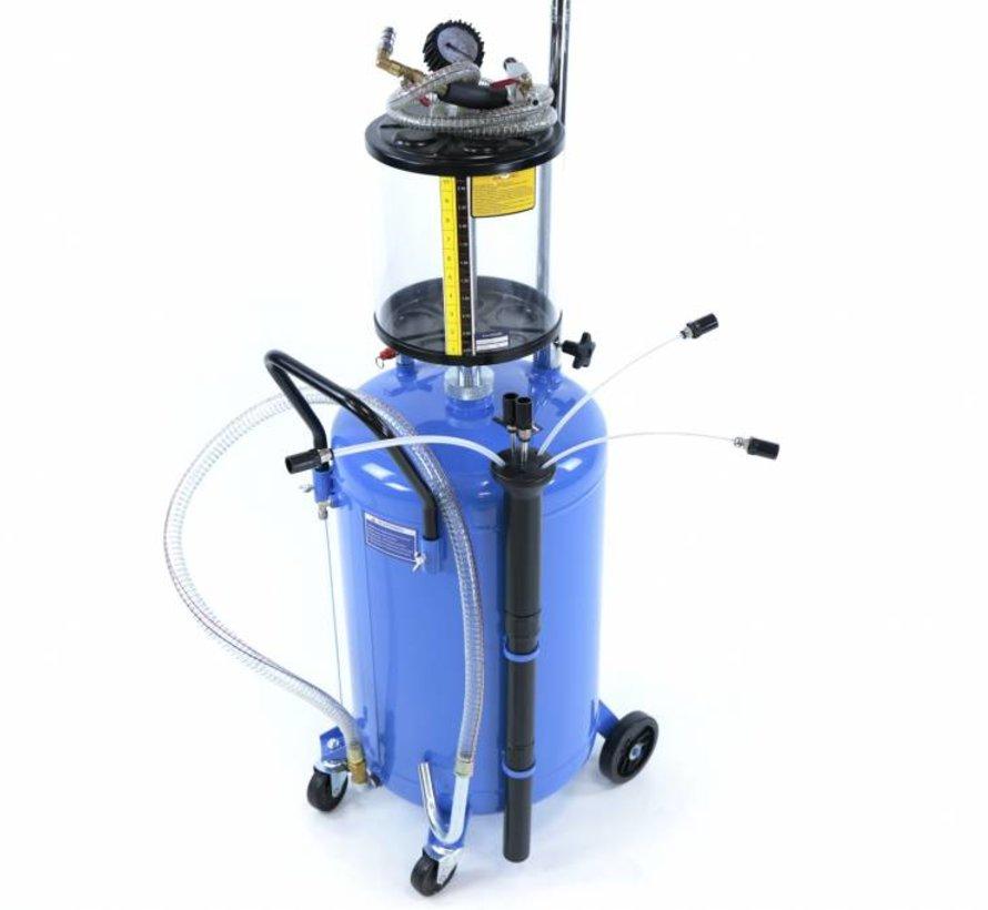 TM Ölsammelsystem / Ölextraktor mit Stahlwanne
