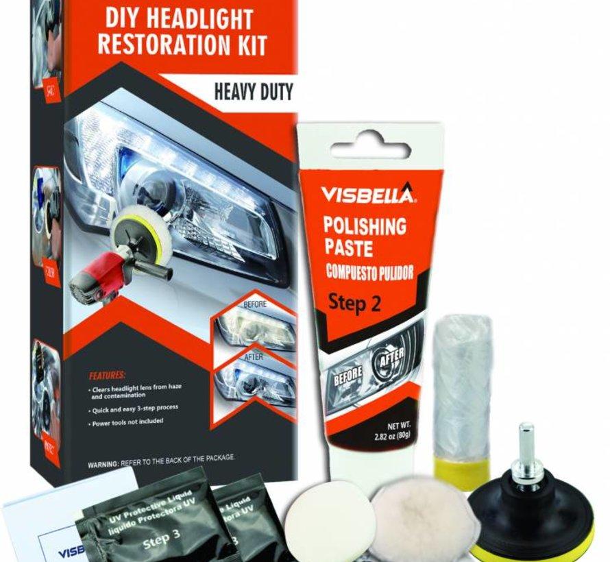 TM koplampen polijsten set compleet XL