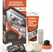Visbella TM koplampen polijsten set compleet Handmatig XL