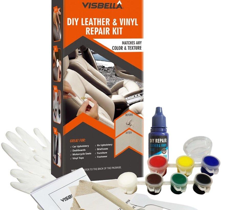 TM Leder- und Vinyl-Reparaturset XL