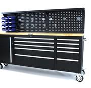 TM TM 215 cm. Tool trolley / Workbench with worktop