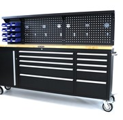 TM TM 215 cm. Werkzeugwagen / Werkbank mit Arbeitsplatte