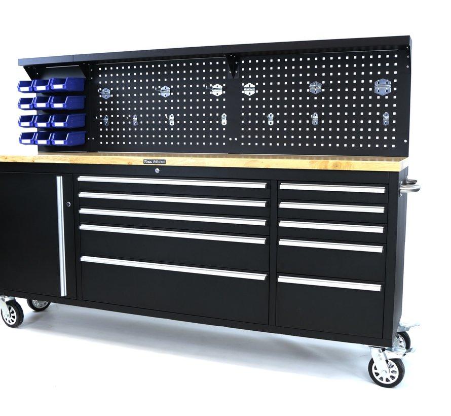 TM 215 cm. Werkzeugwagen / Werkbank mit Arbeitsplatte