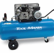 TM TM 150 liter compressor 3Hp, 230v