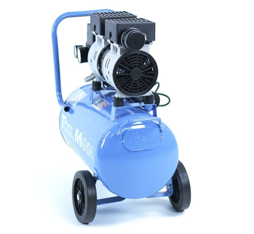 30 Liter Professional Low Noise Compressor 0.75HP 230v