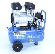 TM TM 30 Liter Professional Low Noise Compressor 1,5HP 230v
