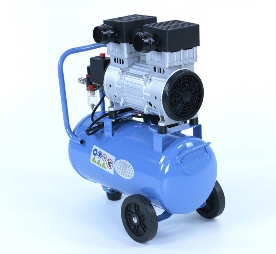 30 Liter professioneller geräuscharmer Kompressor 1.5HP 230v