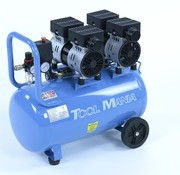 TM TM 50 Liter Professionele Low Noise Compressor 1,5HP 230v