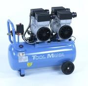 TM 50 Liter professioneller geräuscharmer Kompressor 3TE 230V