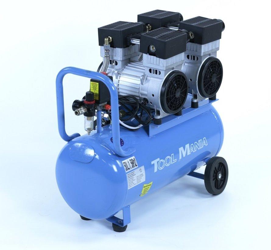 TM 50 Liter Professionele Low Noise Compressor 3HP 230v