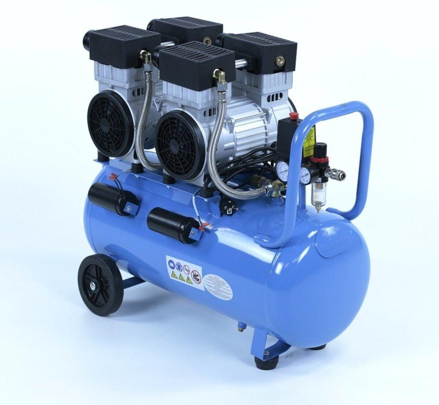 50 Liter Professional Low Noise Compressor 3HP 230v