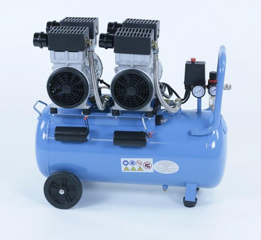 50 Liter professioneller geräuscharmer Kompressor 3TE 230V